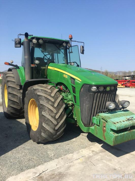 Трактори John-Deere 8530 0